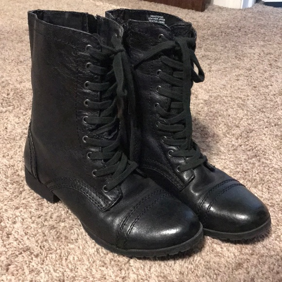 Shoes | Nine West Combat Boots | Poshmark